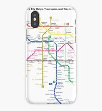 Mexico City Metro - Mexico iPhone Case/Skin