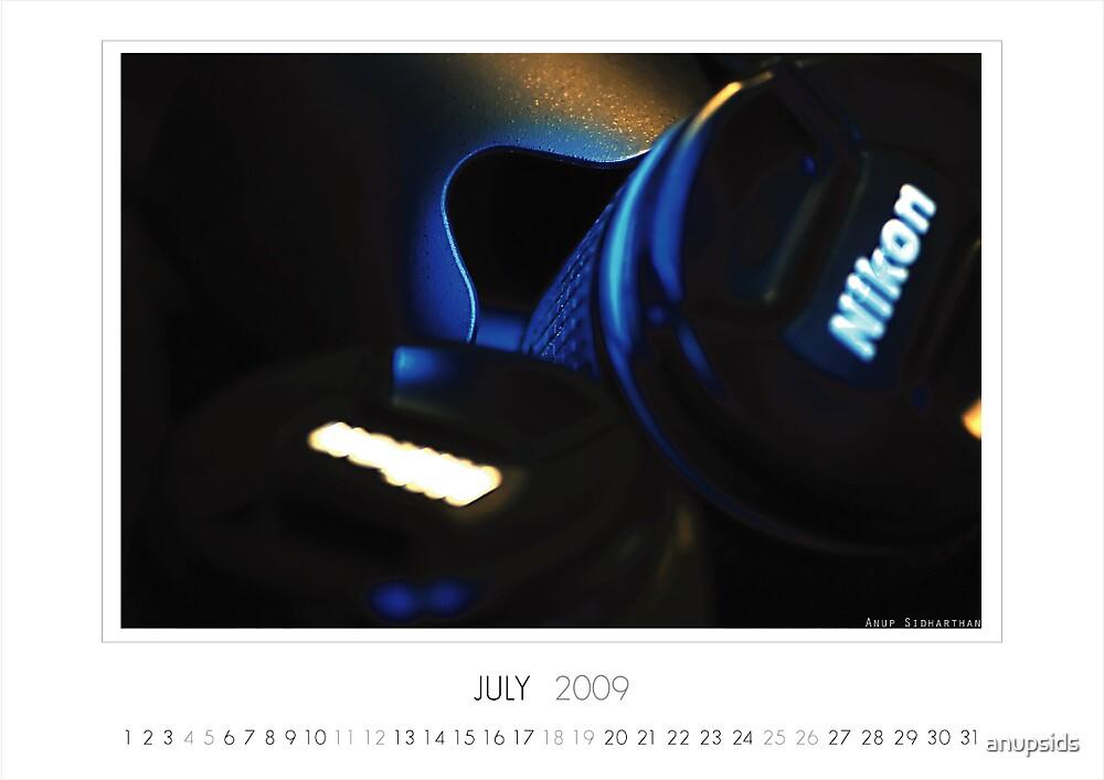 July 2009 Calendar by anupsids
