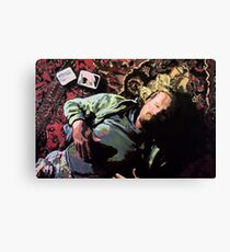 The Dude - Lebowski Canvas Print