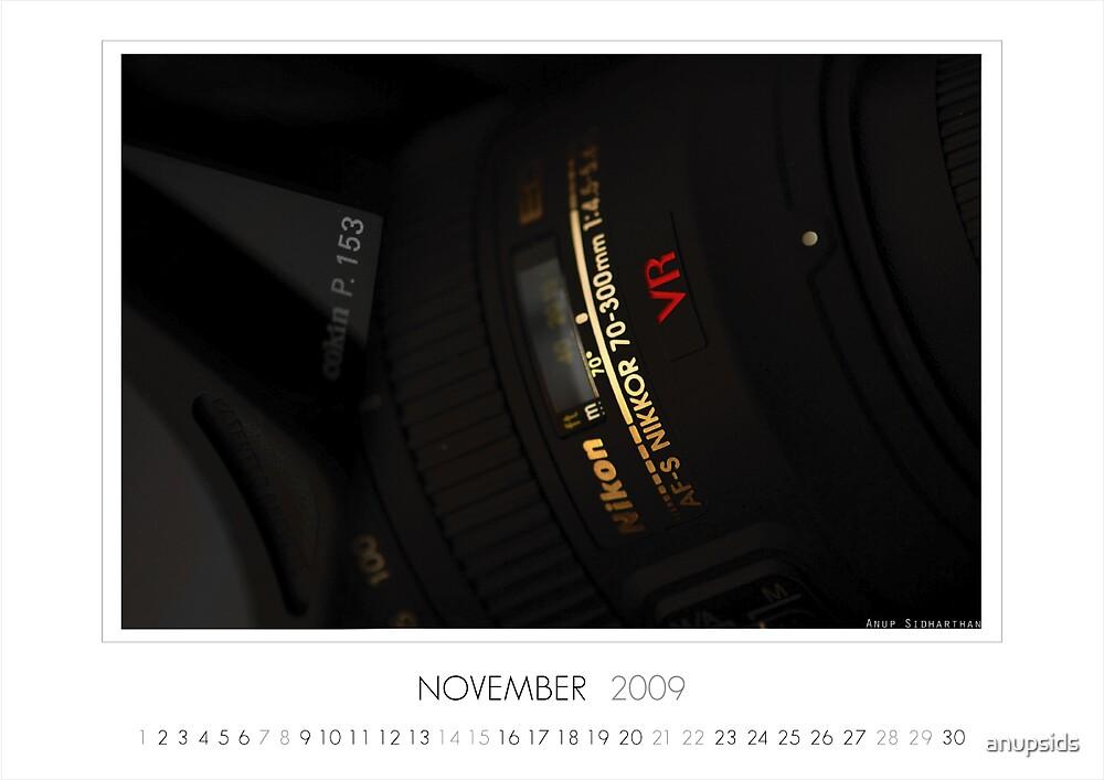November 2009 Calendar by anupsids