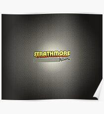 Strathmore, Alberta   Retro Stripes Poster