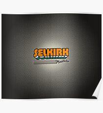 Selkirk, Manitoba   Retro Stripes Poster