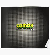 Comox, BC   Retro Stripes Poster