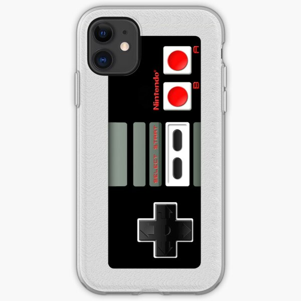 Classic old vintage Retro game controller iPhone Soft Case
