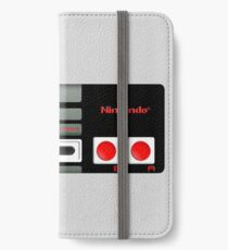 Classic old vintage Retro game controller iPhone Wallet/Case/Skin