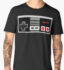 Classic old vintage Retro game controller Men's Premium T-Shirt