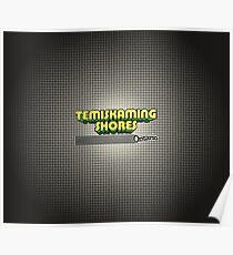 Temiskaming Shores, Ontario   Retro Stripes Poster