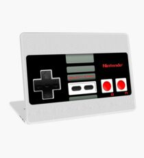 Classic old vintage Retro game controller Laptop Skin