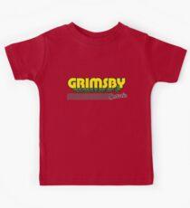 Grimsby, Ontario | Retro Stripes Kids Tee