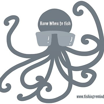 Grey Octopus, Hiptopus, Tell you when to fish by doodliepoodlie