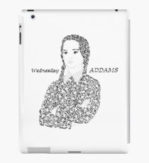 Wednesday in The Addams Family  iPad Case/Skin