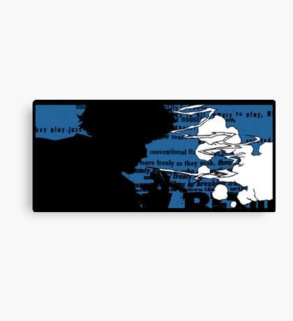Smoking Spike Spiegel Canvas Print