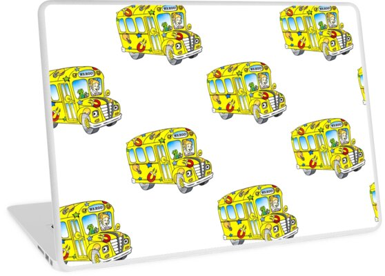 The Magic School Bus Laptop Skins By Ghjura Redbubble