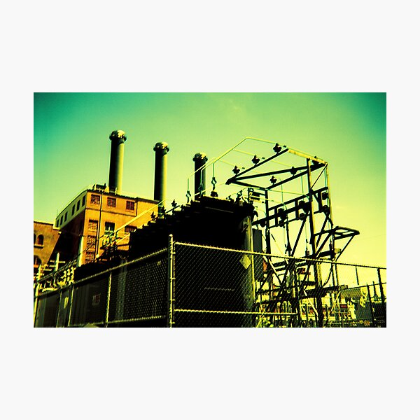 Point Street Power Station Photographic Print