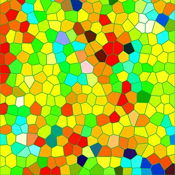 Summer sun fun mosaic by DesignWorlds