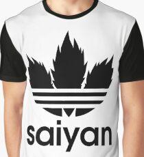 Saiyan - Dragon Ball Z Graphic T-Shirt