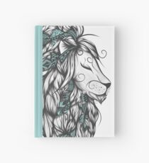 Poetic Lion Turquoise Hardcover Journal