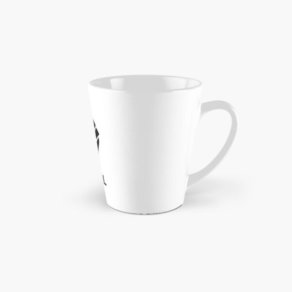 HODL Decred-Fist HODLing DCR Logo-black Tall Mug