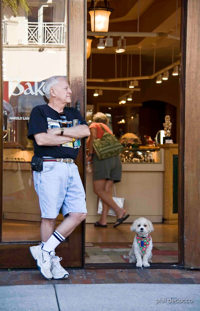 Jewelry Store Guard Dog by phil decocco