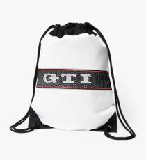 gti white Drawstring Bag