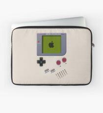Classic old vintage Retro white milk gameboy gamewatch Laptop Sleeve