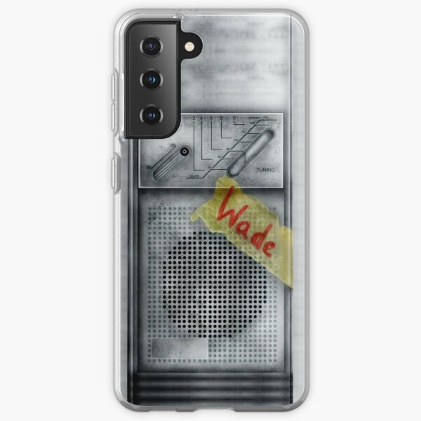 Classic Old vintage dirty dusty Walkman Samsung Galaxy Soft Case