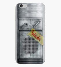Vinilo o funda para iPhone Clásico viejo vintage sucio polvoriento Walkman