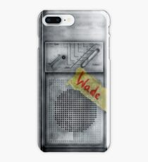 Classic Old vintage dirty dusty Walkman iPhone 8 Plus Case