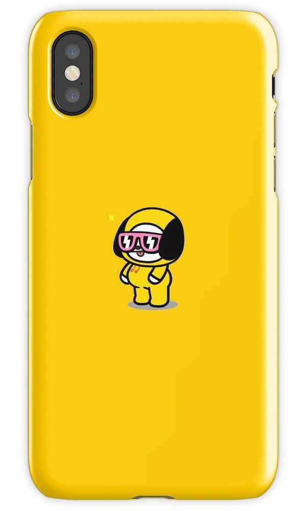 bt21 line friends chimmy jimin bts iphone cases amp covers