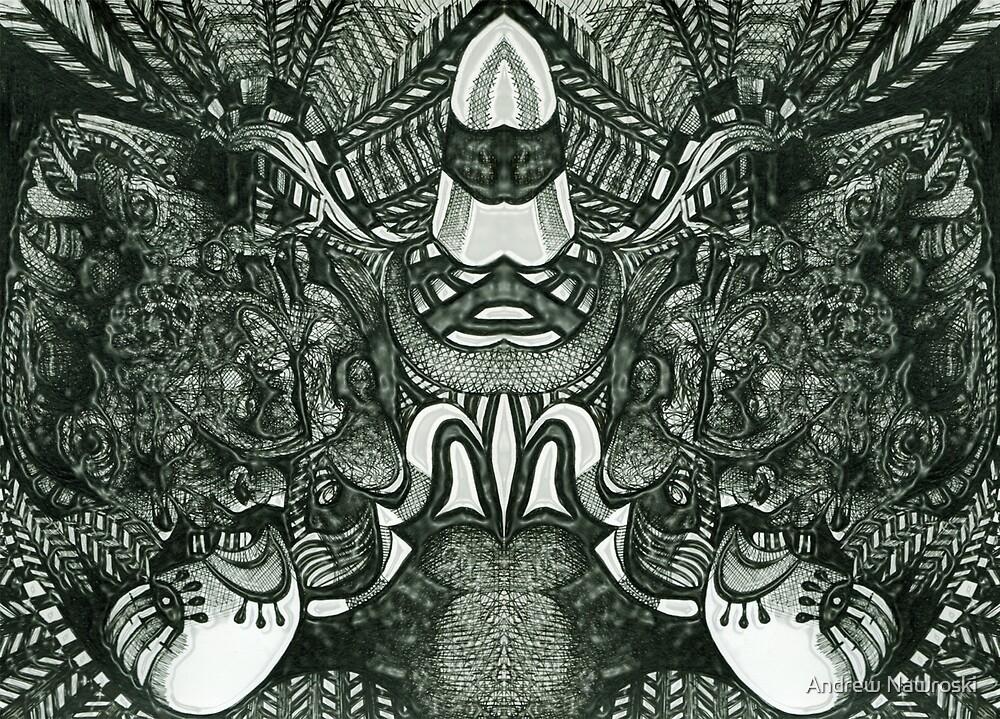 Mask of The Shamen. by Andrew Nawroski