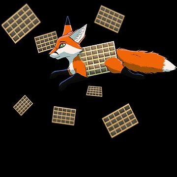 Waffle Fox by Palomino1234