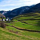 Pyrenees Mountain Village - Sainte-Engrâce  by Alison Cornford-Matheson