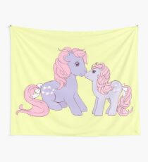 my little pony g1 lickety split and baby Wall Tapestry