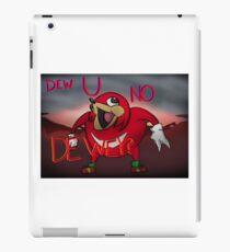 Dew U No De Wey? iPad Case/Skin
