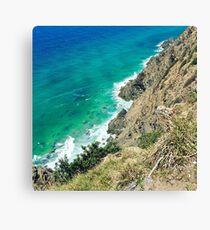Byron Bay crystal waters  Canvas Print