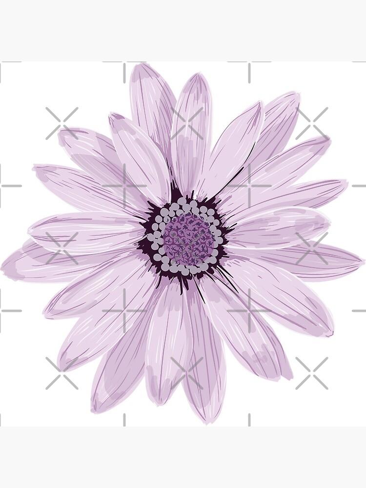 Purple Daisy by Zipzadoo