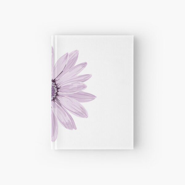 Purple Daisy Hardcover Journal