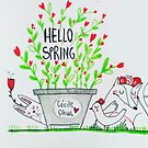 Hello Spring! by CecileOhwl