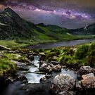 Tryfan by Starlight by Adrian Evans