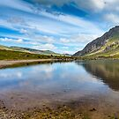 Lake in Snowdonia by Adrian Evans