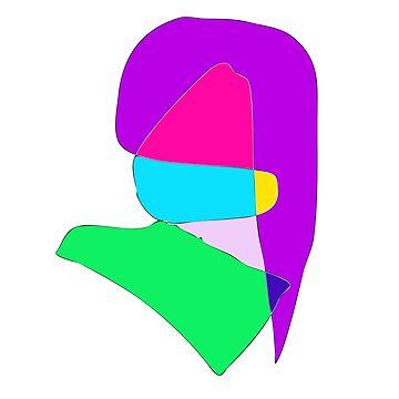 Purple Hair by masabo