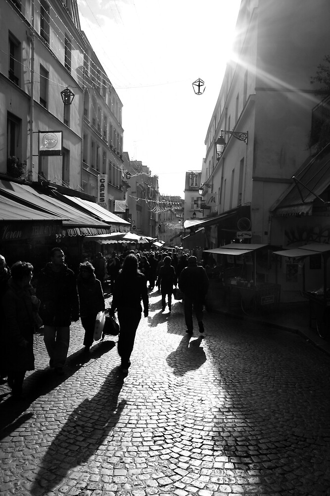 streets of paris by MrTim