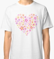 Heart For Valentine Day Classic T-Shirt