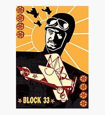 BLOCK 33 Photographic Print