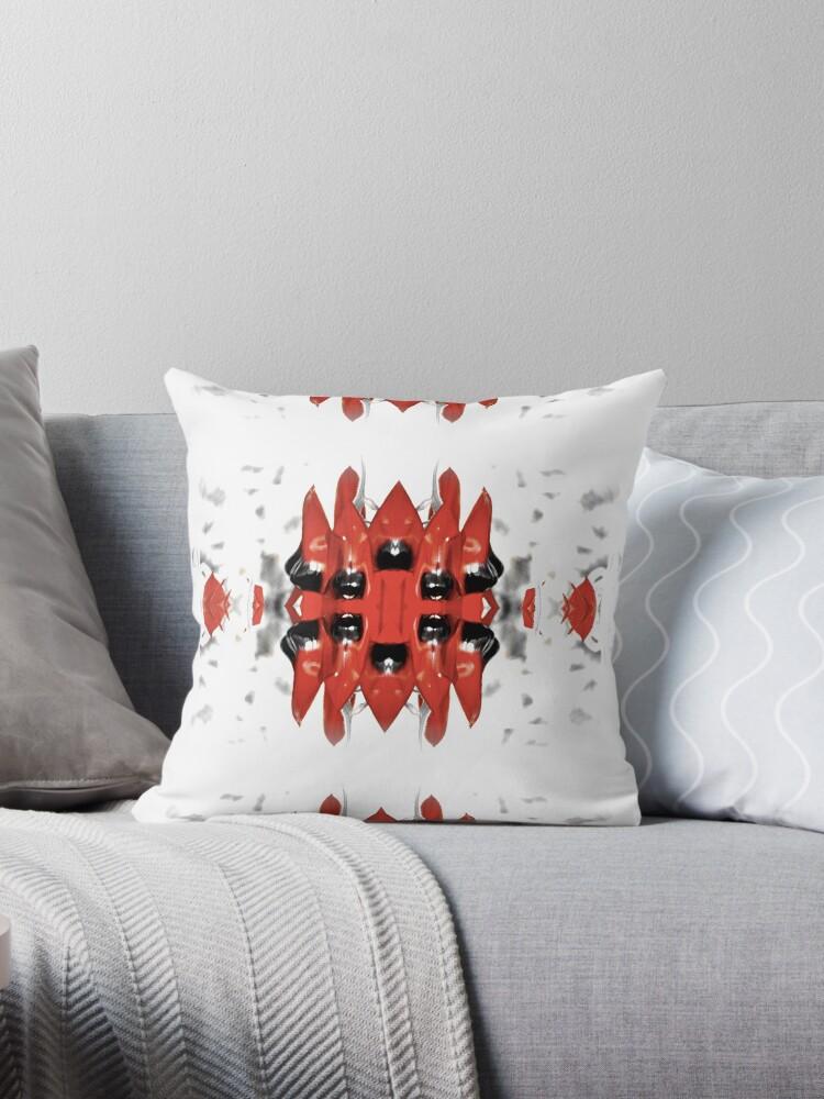 Sturt's Red Desert Pea Stripe Bold by Bloomin' Arty Fashion