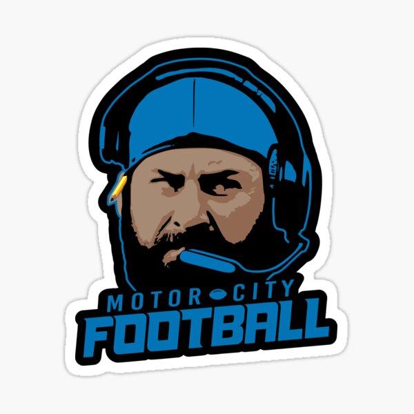 Motor City Football Sticker