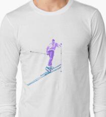 Cross country skiing Long Sleeve T-Shirt