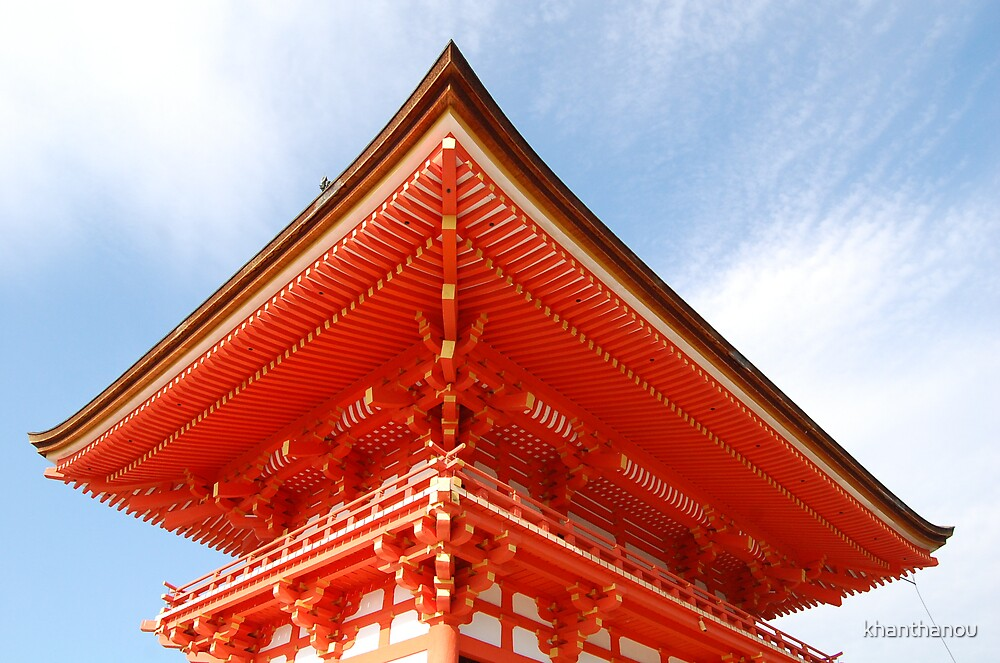 Kiyomizu temple by khanthanou