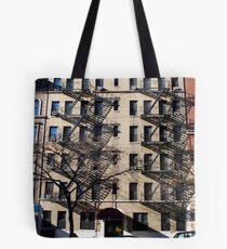 NY Apartments Tote Bag