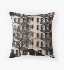 NY Apartments Throw Pillow